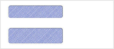 500 Double Window Envelope | Item #CE05A