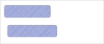 500 Double Window Envelope | Item #CE05B