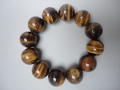 Collect Ancient China Tiger Eye Jade Carving Beautiful Hand Catenary Decoration