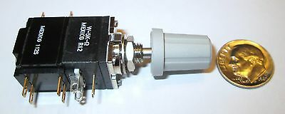 Clarostat Mod Pot 5K Ohm Linear  Potentiometer W/push-Pull Switch  Nos W/knob