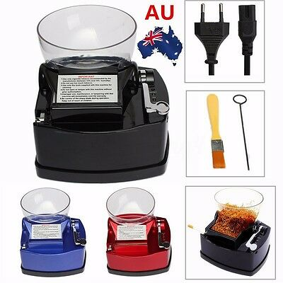 AU Electric Cigarette Rolling Machine Tobacco Roller Automatic Injector Maker