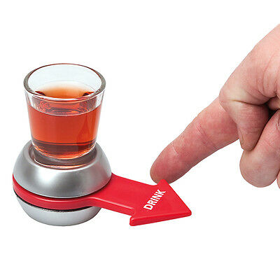 Spinner Spin The Shot Glass Set Adult Drinking Funny Game Fun Party Craft Gift