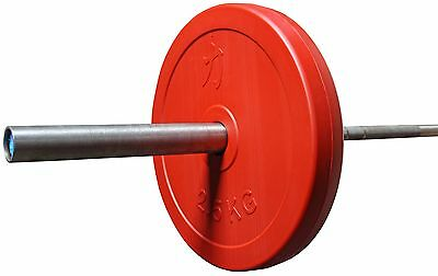 Strength Shop Full Size Hollow Technique Weight Plate - 2.5kg (Pair) (Full size)