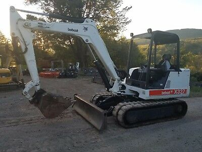 Bobcat E45 Excavator Loaded!  Cab A/c Thumb Ready 2 Work In Pa We Ship!