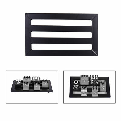 Electric Guitar Effect Pedal Board+Hook and Loop+15 Cable Tie+15 Cable Clips