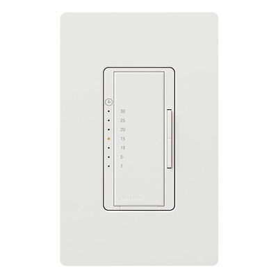 LUTRON MA-T530G-WH Maestro eco-timer 1-30 Mins Single Pole Rocker Switch 120V