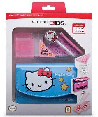 Official Hello Kitty Pack Tasche Game-Case Stifte für Nintendo 3DS DSi Konsole