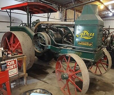 20-40 G Rumely Oil Pull Antique Steel Wheeled Tractor 1921