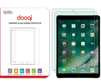 2-Pack Dooqi Tempered Glass Screen Protector For Apple iPad Pro 10.5 inch