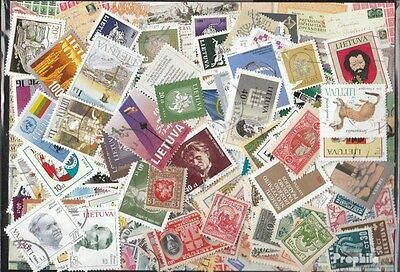 Lithuania 200 different stamps