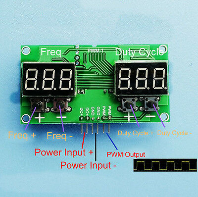 Pulse Frequency Duty Cycle Adjustable Module Stepping Motor Driver Board PWM