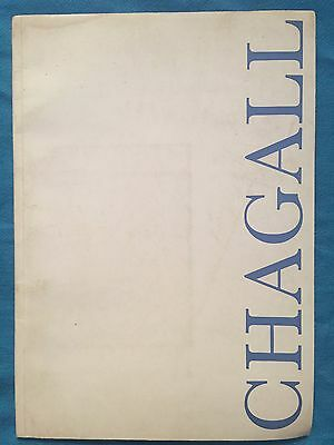 Orig. 1961 Marc Chagall Catalog London O'hana Gallery Illustrated