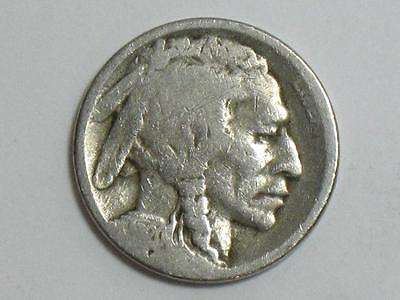 1920-S Buffalo Nickel - Indian Head Bison Us Coin
