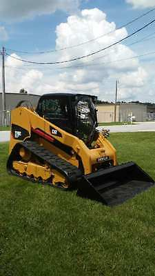2011 Caterpillar 279C Compact Skid Track Loader Hydraulic Hi-Flow XPS 2 Speed