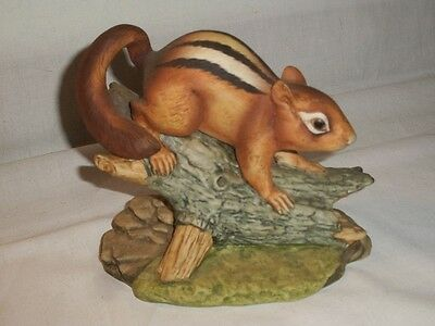 Andrea by Sadek (#5933) Chipmunk porcelain hand painted figurine