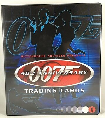 James Bond 40Th Anniversary Master Set Autographs Expansion Preview Inserts+++