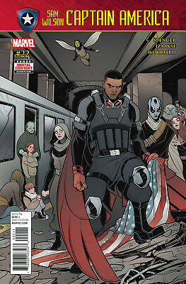 CAPTAIN AMERICA SAM WILSON #22 SE (MARVEL 2017 1st Print) COMIC