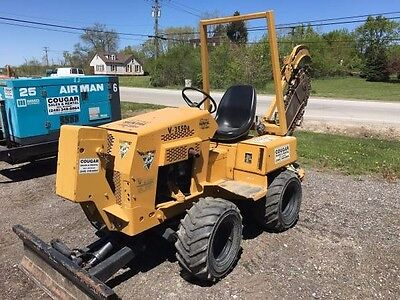 "Vermeer Ride On Diesel Trencher, Great Running Condition, 8"" x 48"""