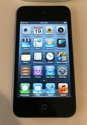 Apple iPod touch 4th Generation Black (8 GB) - Good Condition