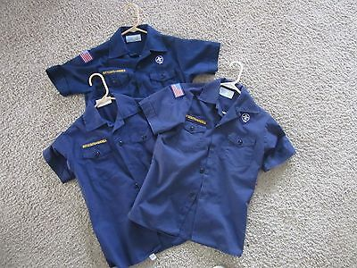 Boy Cub Scouts of America Blue Shirt YOUTH MEDIUM Your Choice of Style
