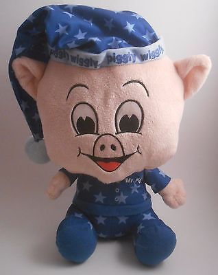 """Piggly Wiggly Grocery Store Mr Pig 12"""" Plush Star Pajamas 015 EUC 2nd Edition"""