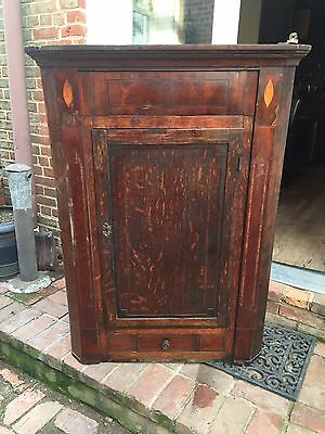 Antique corner cabinet (free delivery, if close to DC)