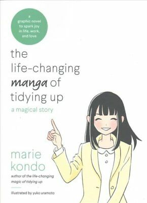 The Life-Changing Manga of Tidying Up A Magical Story 9780399580536