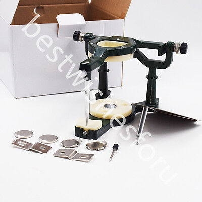 Dental Lab Big Size Full Mouth Adjustable Magnetic Articulator Equipment Denture