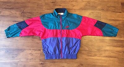 Vintage Kids Color Block Nike Windbreaker Medium Purple