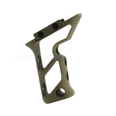 Tactical Aluminum Vertical Foregrip Fore Grip Fits Shift Style Fits 20mm Rail