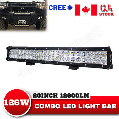 20Inch 210W CREE Led Light Bar Spot Flood Combo Work Driving Lamp Offroad Truck