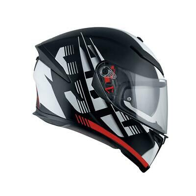 AGV integral track helmet K-5 S DARKSTORM MATT BLACK/RED Carbon fiberglass US