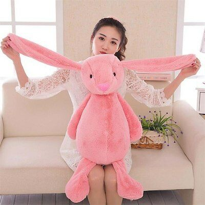 30cm Bunny Rabbit Plush Toy Long Ear Rabbits Soft Doll Kids Birthday Xmas Gift
