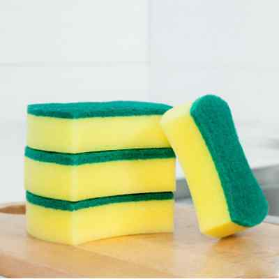 Lot 5pcs Sponge Brush Kitchen Washing Cleaning Cleaner Scouring Tool High Grade