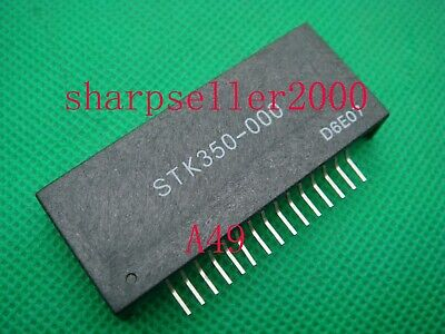 50PC STK350-000 2-channel AF Voltage Amplifier BY SANYO