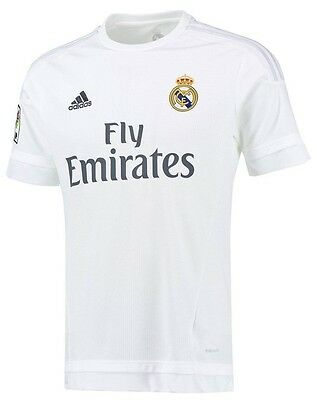 Adidas Real Madrid Home Jersey Top T Shirt 2015 - 2016 S M L & XL Bnwt New