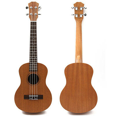 26 Inch Professional Tenor Ukulele Uke Hawaii Guitar Sapele 18 Fret 4-stringed