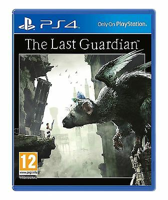 The Last Guardian PS4 Brand New Sealed Official Sony PlayStation 4