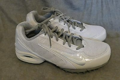 NEW white Nike Lacrosse Women's Air Team Destroyer III 3 Style 415182 102 Size 6