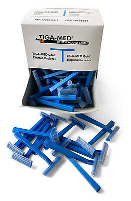 Tiga-Med - Disposable Razors for Medical and Tattoo Preperation - Choose QTY
