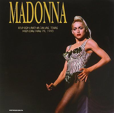 Madonna - Reunion Arena Dallas, Texas, May 7th, 1990 (2017)  180g Vinyl 2LP  NEW