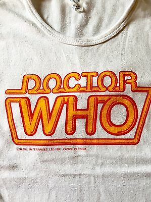 Fantastic Vintage Doctor Who T-shirt 70s 80s Small