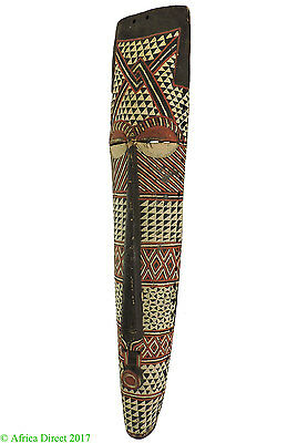 Eastern Pende Mask Colorful Congo African 35 Inch SALE WAS $295