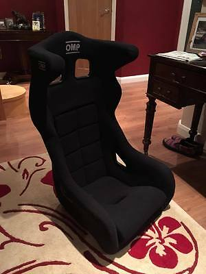 OMP RS PT Fibreglass Racing Bucket Seat - Circuit Sparco Style Side Mounts - Ear