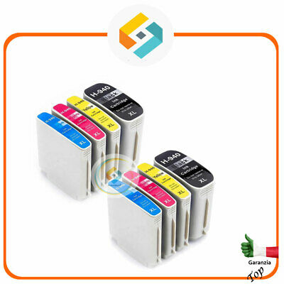 8 CARTUCCE COMPATIBILI PER HP 940 XL OfficeJet Pro 8000 Enterprise 8500 A Plus