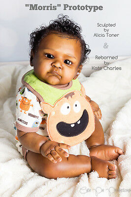 """MORRIS by Alicia Toner ~ 21""""  Reborn Doll KIT~ COA ~ SOLD OUT!!!!"""
