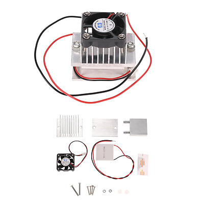 KKmoon DIY Kit Thermoelectric Peltier Cooler Refrigeration Cooling System Heat