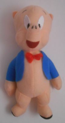 "Toy Factory 2015 Warner Bros Looney Tunes 8"" Porky Pig Plush EUC Brothers"