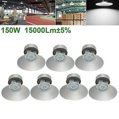 7X150W LED High Bay Light Industrial Factory Warehouse Office Roof Shed lighting