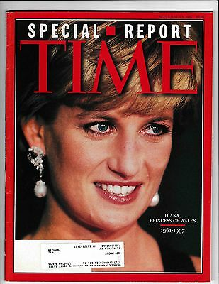 Time Magazine Special Report Sept 8,1997 Princess Of Wales Diana 1961-1997